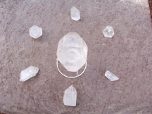 Crystal grid for ascension